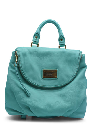 Classic q minty marissa backpack in blue aqua