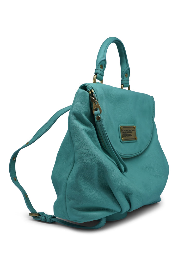 Marc by Marc Jacobs Classic Q Minty Marissa Backpack in Blue Aqua