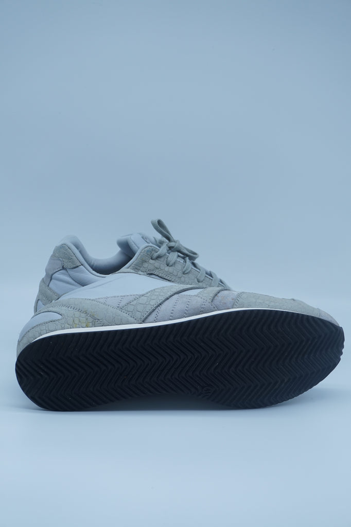 Balenciaga Grey Suede & Leather Sneakers