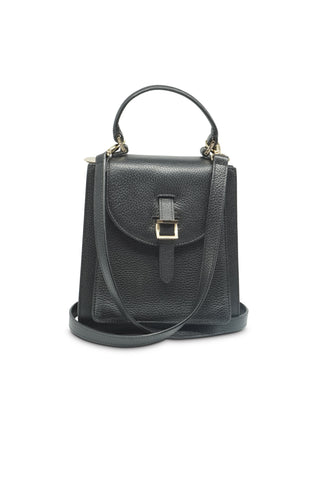 Black floriana cross body bag