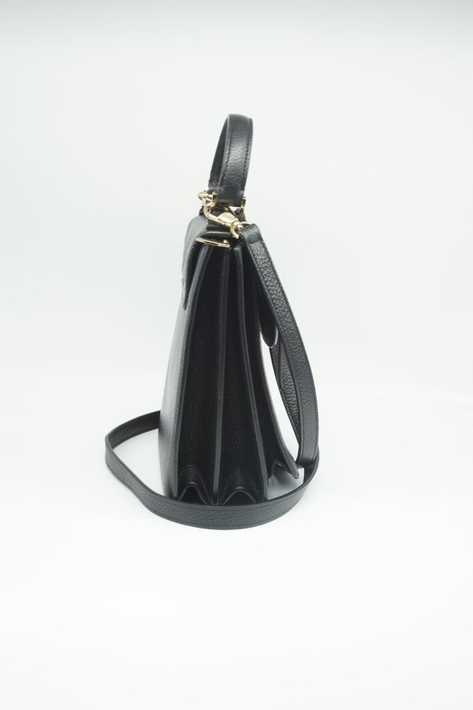 Meli Melo Black Floriana Cross Body Bag