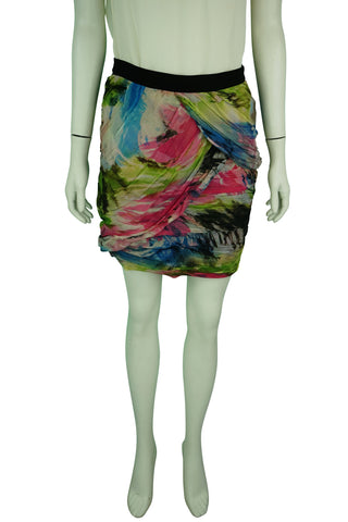 Diane von furstenberg multi-colour short skirt