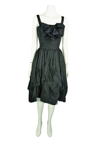 Carla zampati black party dress