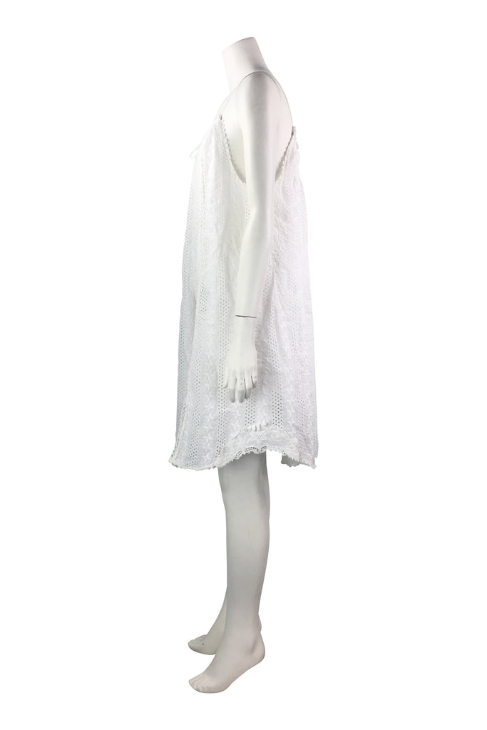 Zimmermann White Cotton Dress