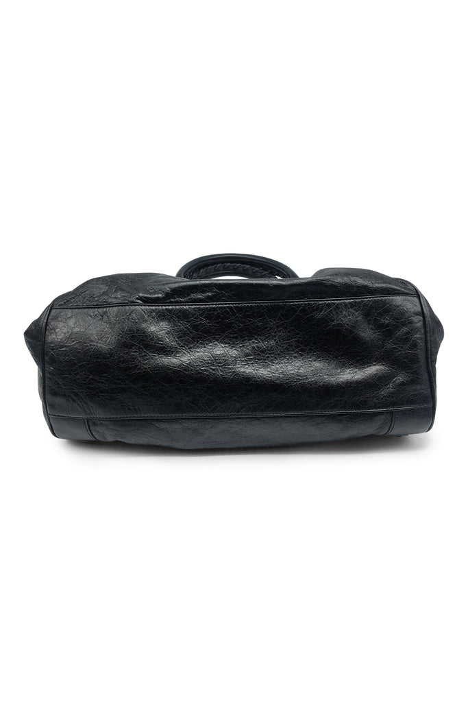Balenciaga Velo Classic Regular Hardware Bag in Black