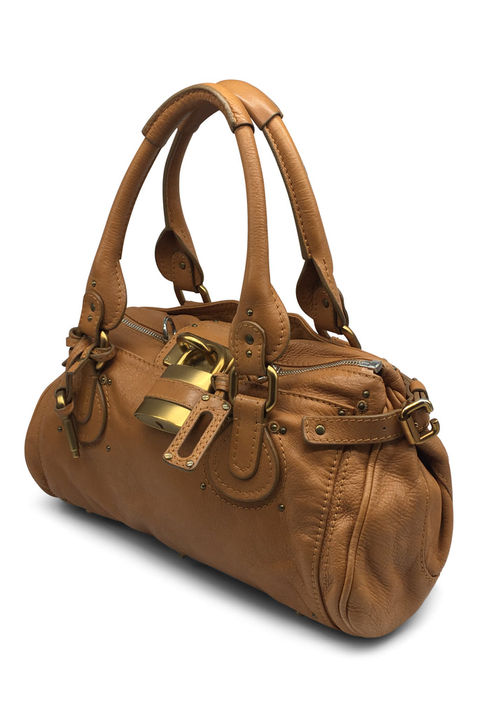 Chloe Paddington Bag PM in Tan