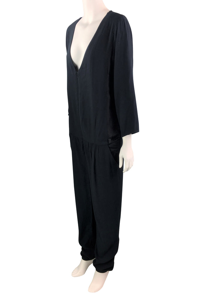 Ba&sh Black Jumpsuit