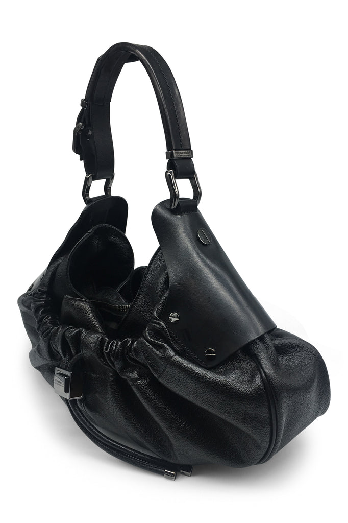 Burberry Black Leather Handbag