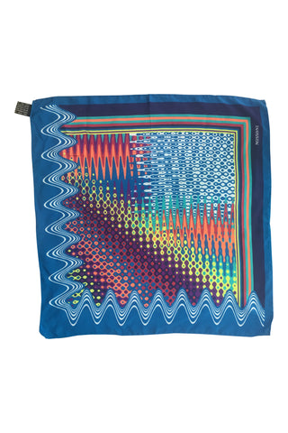 Multicolour  silk neckerchief