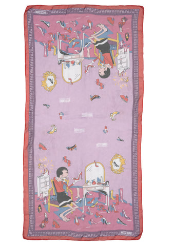 Cheap and chic, betty boop scarf