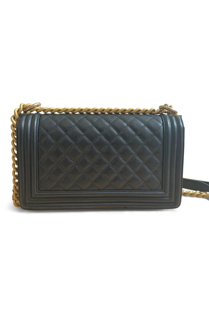 Chanel Large Boy Flap Bag in Black