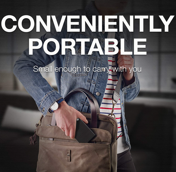 SAVE YOUR DESKTOP & ORGANIZE YOUR FILES - FAVORITE EXTERNAL SEAGATE DRIVE ON THE GO!