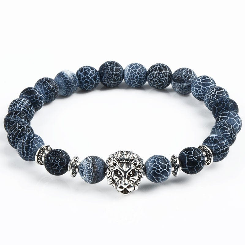 natural in tiger beads bangles stone item bracelet pulseras head bracelets jewelry buddha from bead men eye hombre lion charm