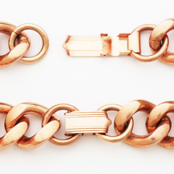 Extra Heavy Fold Over Copper Clasp Repair Kit, 8x14 mm Bulk 5-Pack Solid Copper Clasp and Connection Repair Kits celtic-copper-jewelry.myshopify.com