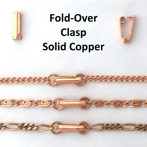 Custom Bracelet Chain Medium Celtic Scroll Chain Bracelet BC66C Custom Size Copper Bracelet Chain