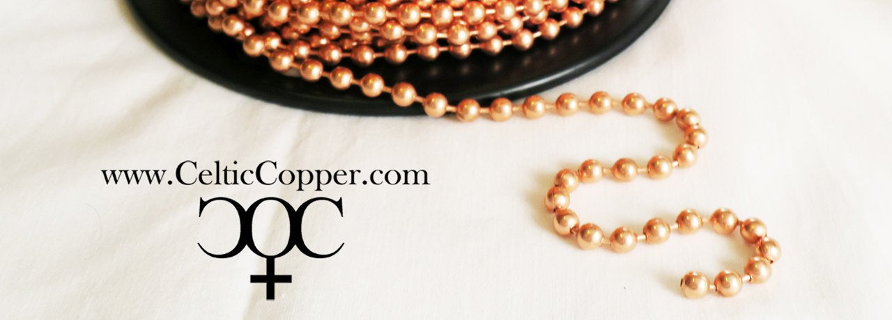 Solid Copper Chain Made In The USA