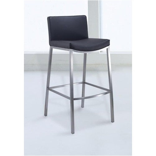 rio stainless steel bar stool simply bar stools. Black Bedroom Furniture Sets. Home Design Ideas