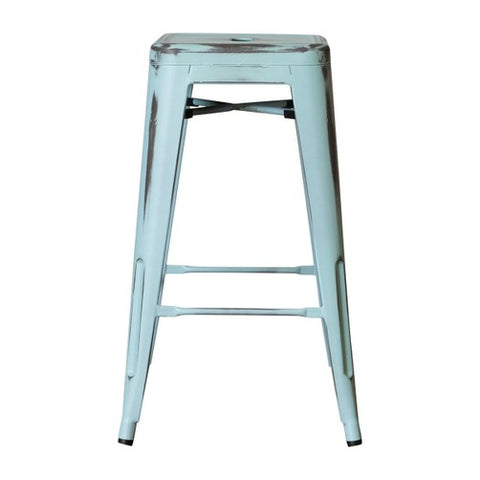 replica tolix counter stool antique blue simply bar stools