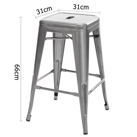 Quot Phillipa Quot Replica Tolix Kitchen Counter Stool 66cm In