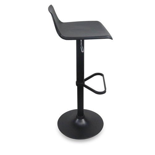 Quot Trieste Quot Modern Gas Lift Counter Stool In Black Simply