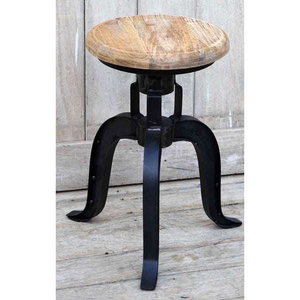 Quot Bardon Quot Industrial Cast Iron Timber Seat Wind Up Bar