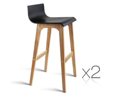 Wooden Simply Bar Stools