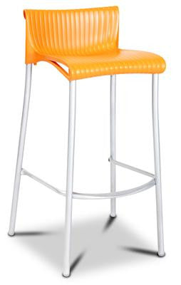 Yamba Stackable Resin And Aluminium Outdoor Bar Stool 76cm In