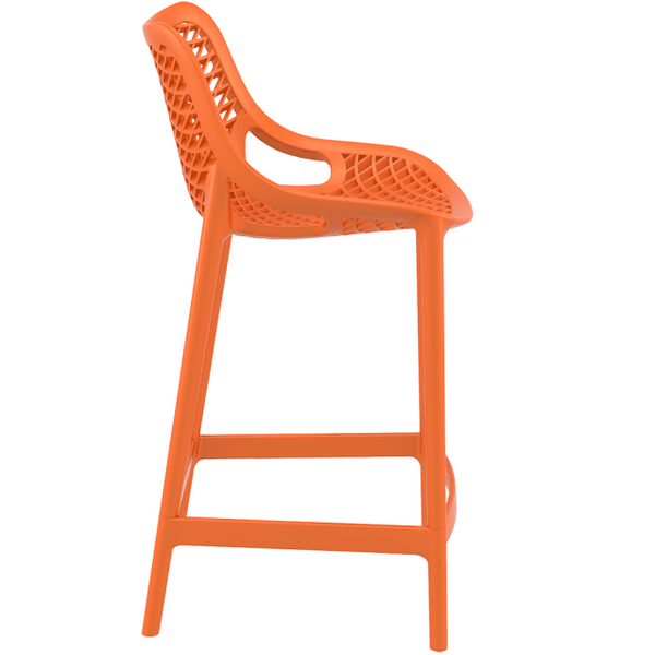 Quot Riley Quot Injection Mould Outdoor Counter Stool 65cm In