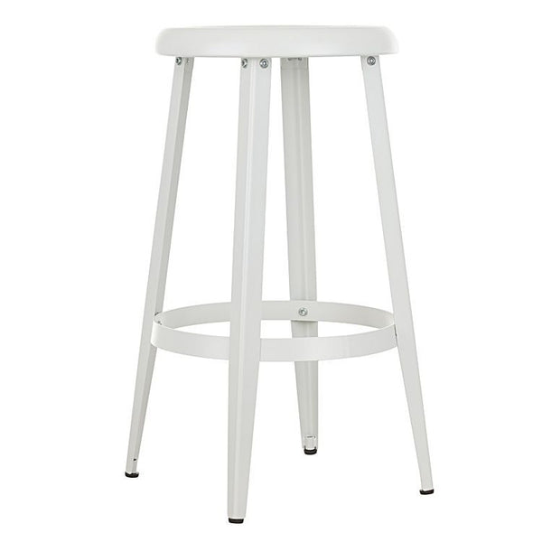 Quot Tolosa Quot Classic Metal Round Kitchen Counter Stool In