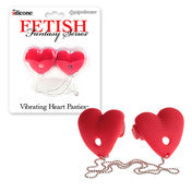 Fetish Fantasy Vibrating Heart Pasties