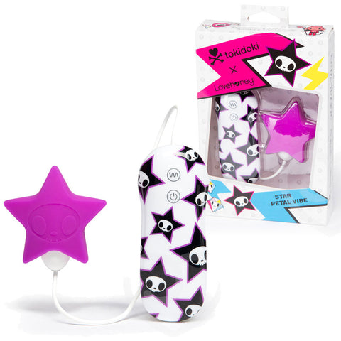 Tokidoki Purple Star Clitoral Silicone 3 Speed 4 Fuction