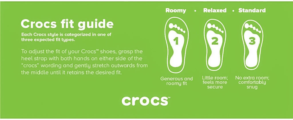 399d63cad4cb For more information on Crocs™ shoe sizes and the applicable sizing  conversion
