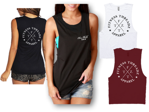 FITNESS THREADZ CIRCLE FRONT AND BACK-
