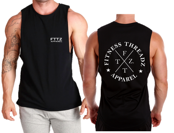 FITNESS THREADZ CIRCLE FRONT AND BACK