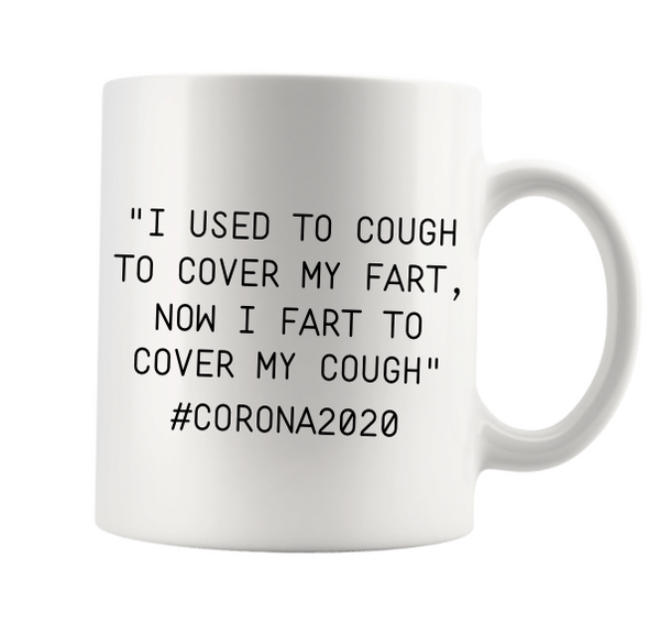 """I USED TO COUGH TO COVER A FART..."