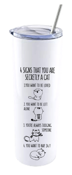 4 SIGNS YOU ARE SECRETLY A CAT.