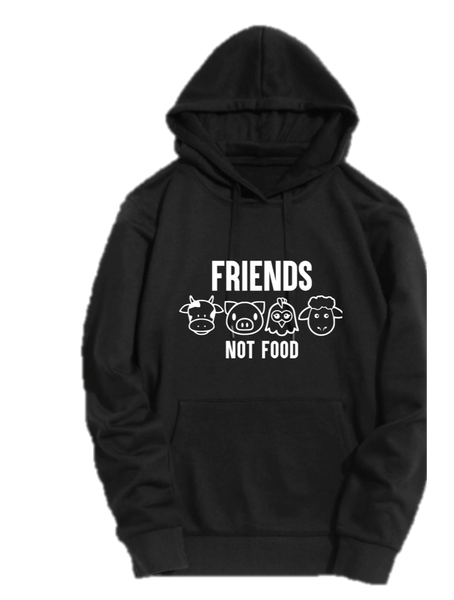 FRIENDS . NOT FOOD
