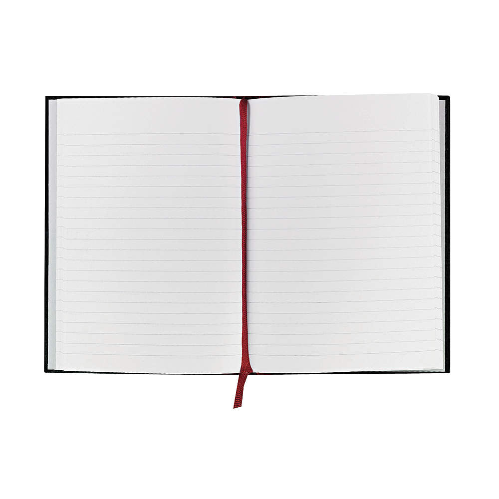 Black N' Red Notebook, 8.25inches, Office Value Pack (Pack of 12)