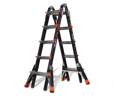 22 ft. Fiberglass Multipurpose Ladder, 300 lb. Load Capacity