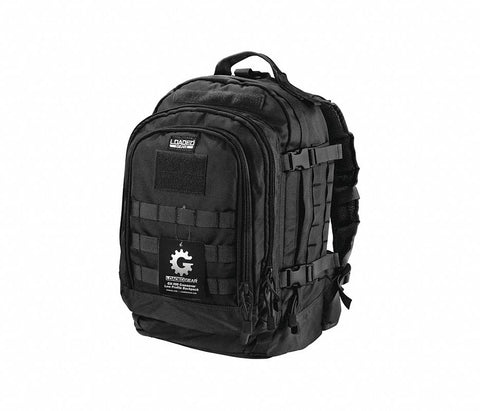 Backpack, Crossover Utility, Black, Nylon (Pack of 10)
