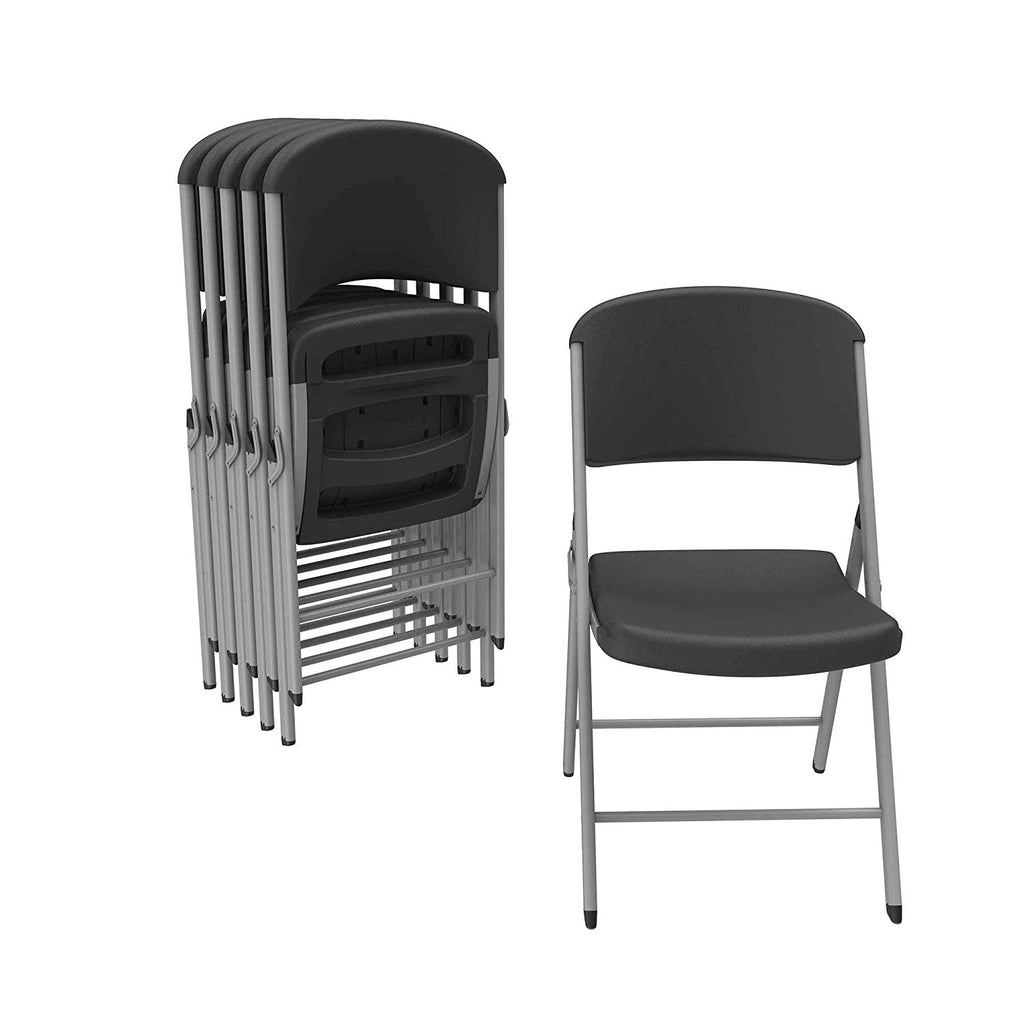 Lifetime 80844 Classic Folding Chairs Pack Of 48 Chairs Two Tier Folding Chair Rack Dolly Cart For 50 Chairs