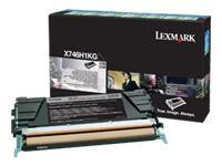 Lexmark X746 Black High Capacity Toner Cartridge