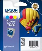 Epson T020 Tri-Color Ink Cartridge Multipack