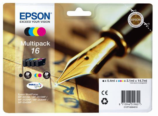 Epson 16 Black and Color Ink Multipack