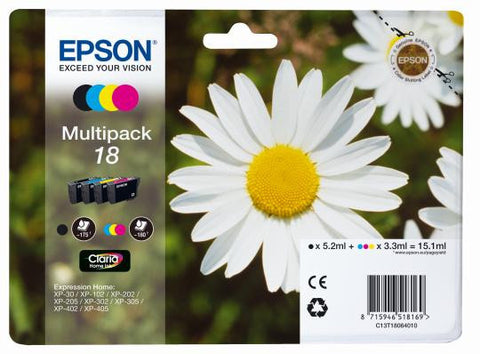 Epson 18 Black and Color Ink Multipack