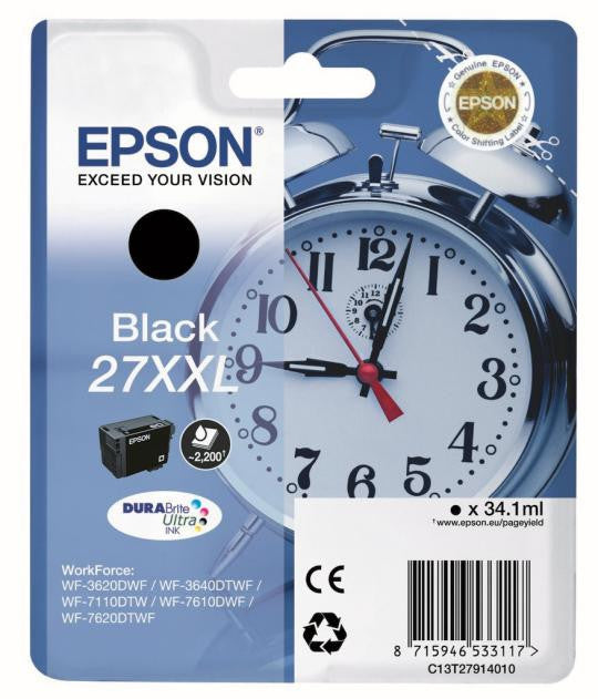 Epson 27 XXL Extra High Capacity Ink Cartridge