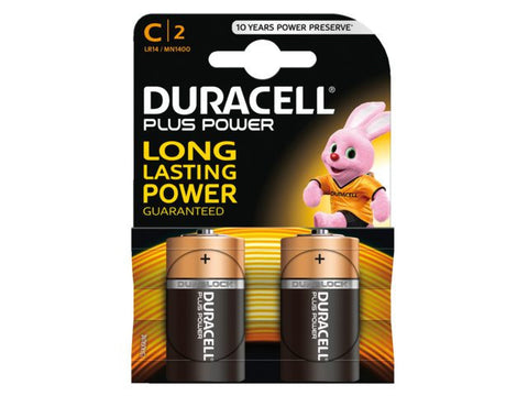 Duracell C MN1400 Battery Cell (Pack of 2 pieces)