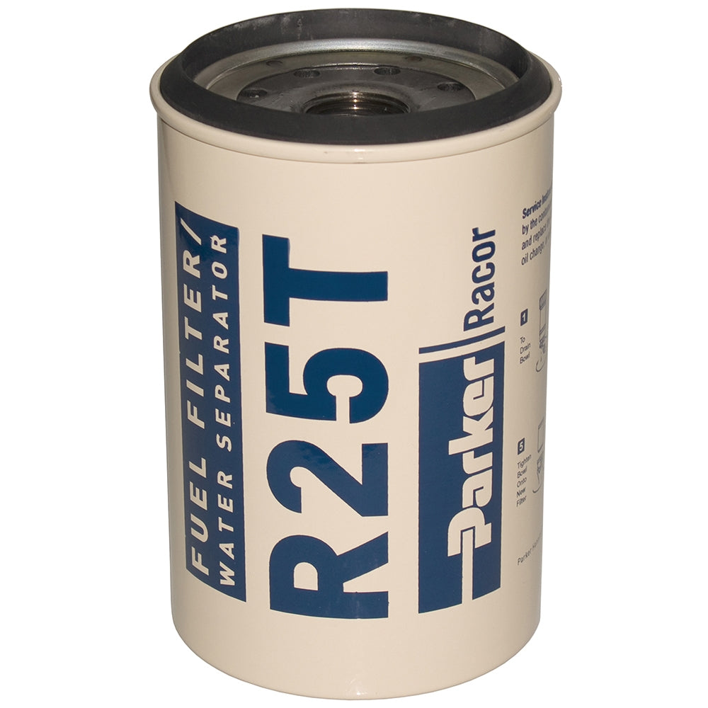 Parker Racor 10 Micron Aquabloc Spin On Element For 245r Series Fuel Filter