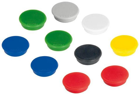 Maul Round Whiteboard Magnets (10 assorted colors)