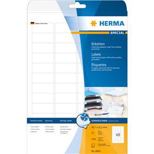 Herma 1.79x0.83 in Inkjet Labels (pack of 1,200 pcs)